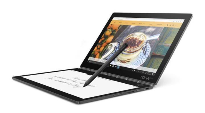 Lenovo Yoga Book e-mürekkep ekrana sahip oldu