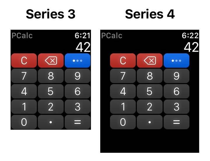 Apple Watch Series 4'ün ekran çözünürlüğü ortaya çıktı