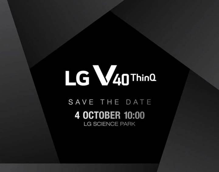 Üç arka kameralı LG V40 ThinQ'nun lansman tarihi açıklandı
