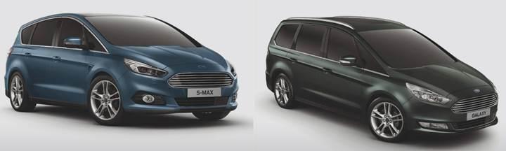 Ford Galaxy ve S-Max'e yeni dizel seçenekler eklendi