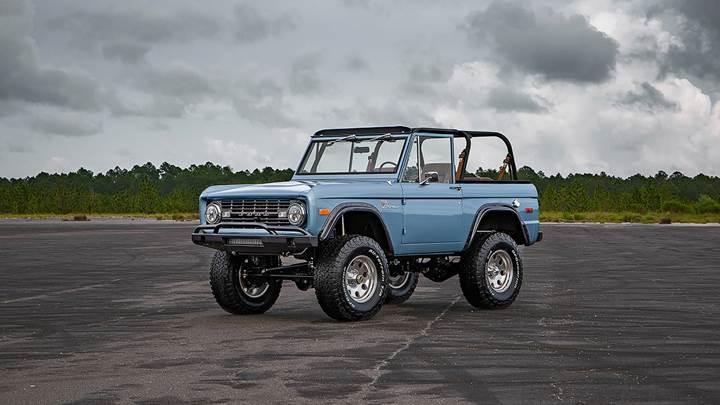 1973 Ford Bronco restore edildi!