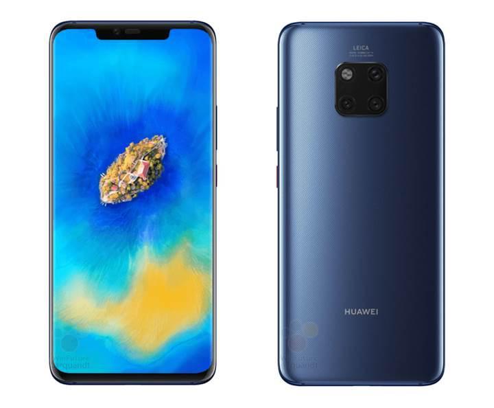 Resmi basın görselleri sızdı: Karşınızda Huawei Mate 20 Pro