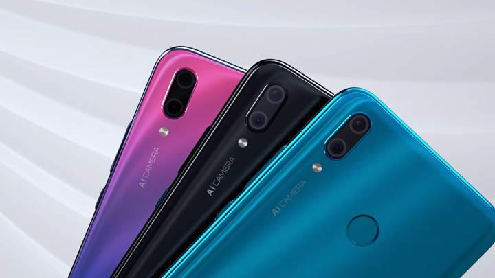 Huawei Y9 (2019) resmi olarak duyuruldu
