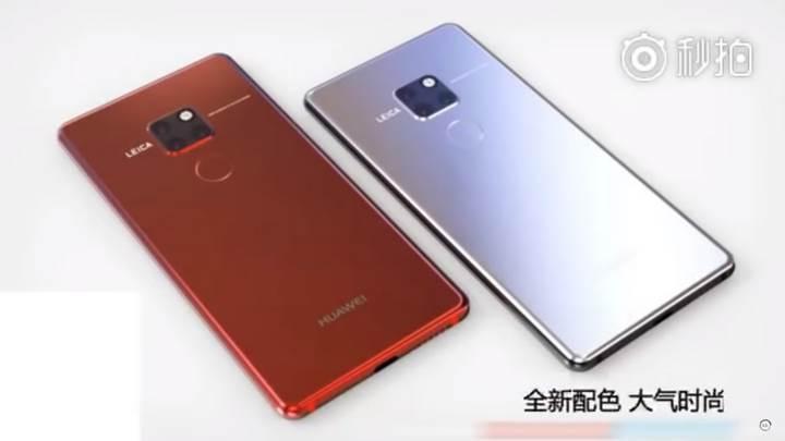Huawei Mate 20 Pro'nun resmi tanıtım videosu sızdırıldı