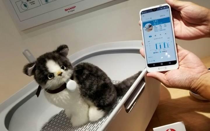 Tokyo teknoloji fuarında koku ve stres sensörleri tanıtıldı
