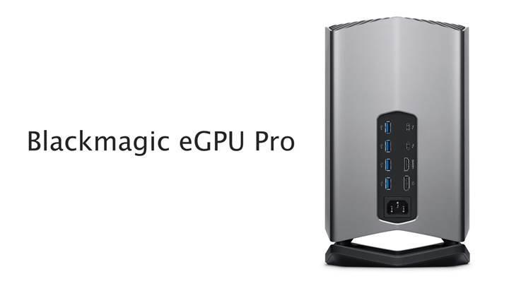 Radeon RX Vega 56 ekran kartlı Blackmagic eGPU Pro duyuruldu