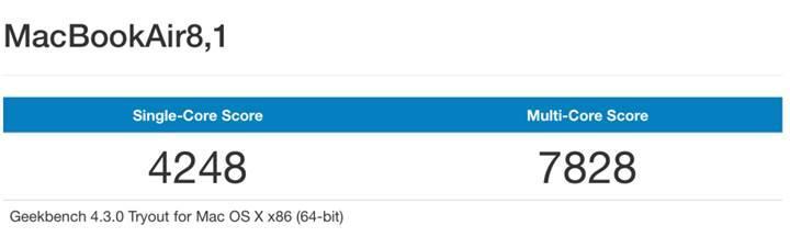 Yeni MacBook Air modeli 7W işlemciye rağmen tatmin edici sonuçlar alıyor