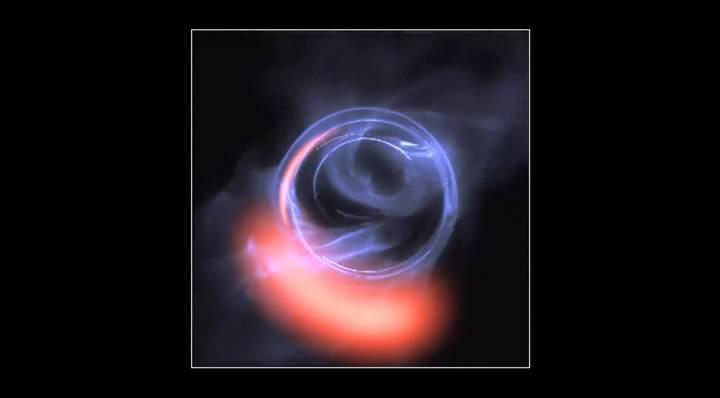 Bilim adamları galaksimizin ortasındaki süper kütleli karadeliğe ait delil buldular