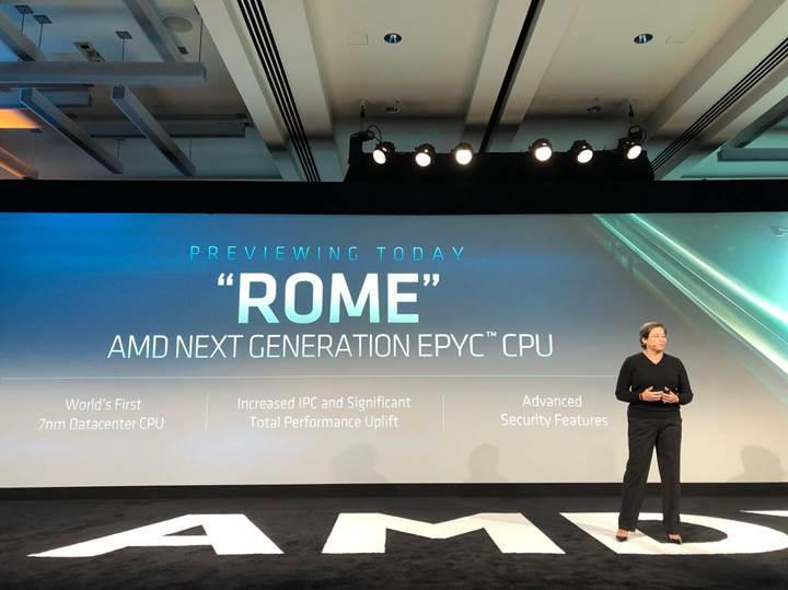 AMD dünyanın ilk 7nm işlemcilerini duyurdu