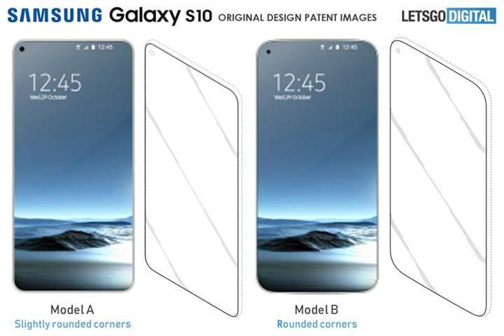 Samsung Galaxy S10'un tasarımı açığa çıktı