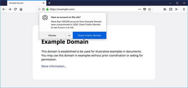 Firefox Quantum hacklenmiş sitelere giren kullanıcıları uyaracak