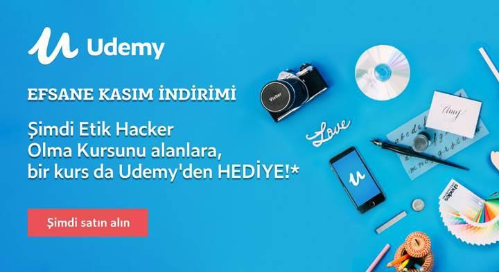 Udemy Efsane Kasım kampanyası: Şimdi kurs satın alanlara bir kurs hediye!