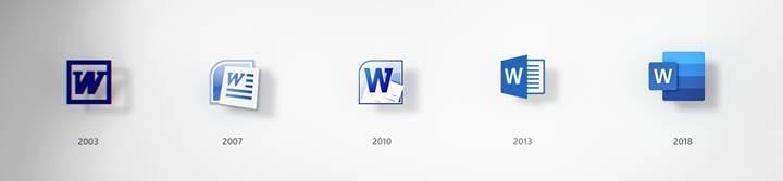 Microsoft Office uygulamalarının simgeleri 5 yıl aradan sonra güncellendi