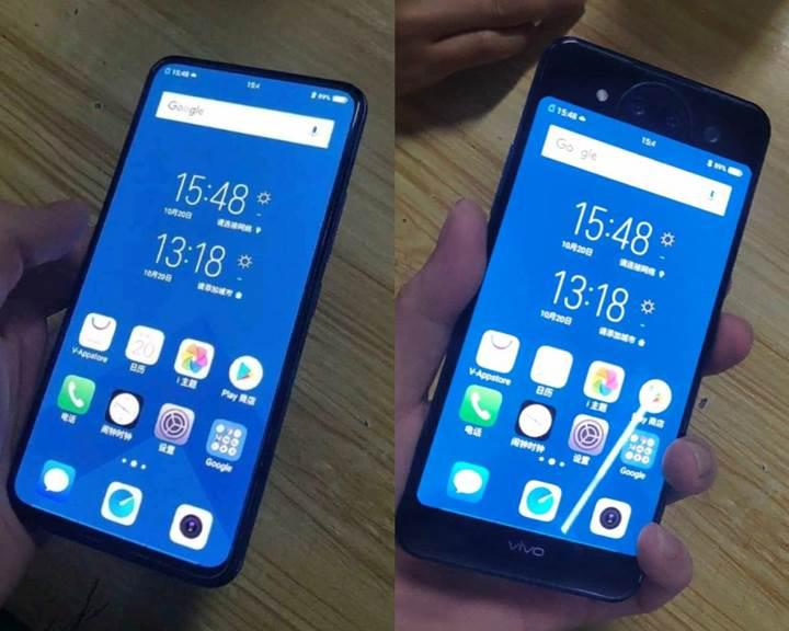 Çift ekranlı Vivo NEX 2'nin tasarımı ortaya çıktı