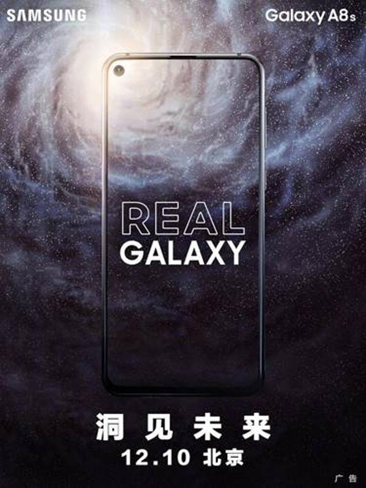 Infinity-O ekranlı dünyanın ilk telefonu Galaxy A8s'in tanıtılacağı tarih açıklandı