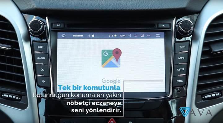 Dünyada bir ilk olarak tanıtılan akıllı araç asistanı: AVA