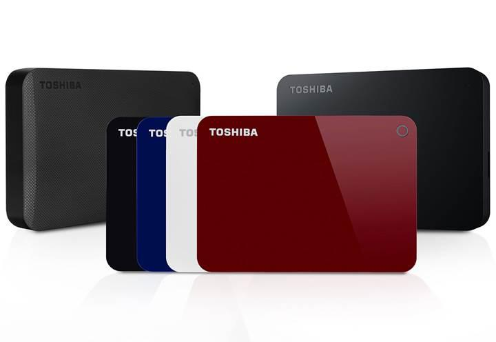 Toshiba Canvio HDD ailesi genişliyor