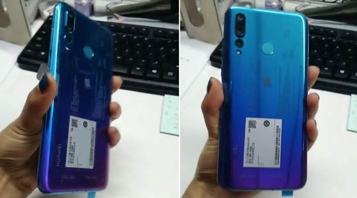 Delikli ekrana sahip Huawei Nova 4'ün fotoğrafları yayınlandı