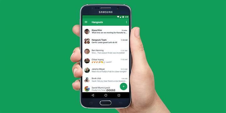 Google Hangouts'a akıllı yanıt özelliği geliyor