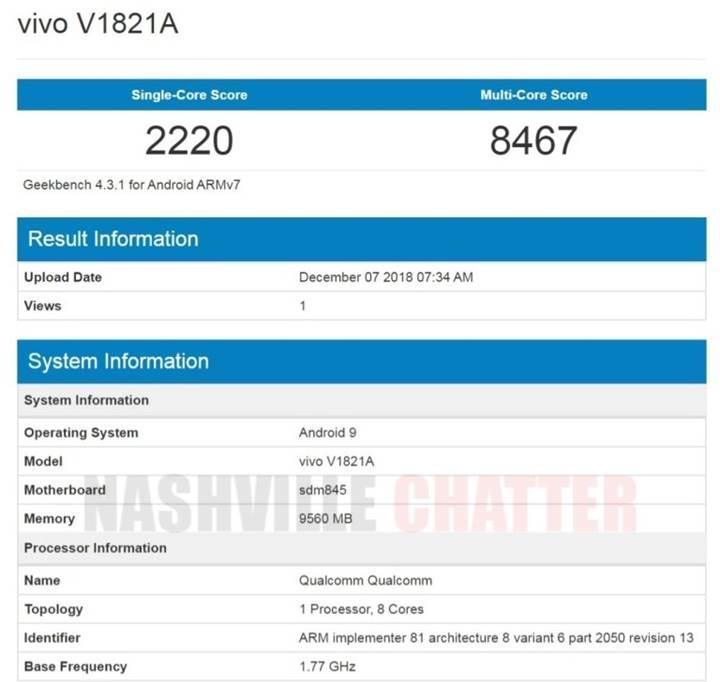 Çift ekranlı Vivo NEX 2, Geekbench'de ortaya çıktı [Galeri: Basın Görselleri]