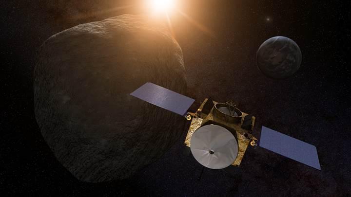 NASA'nın uzay aracı, Bennu asteroitinde 'su kalıntıları' buldu