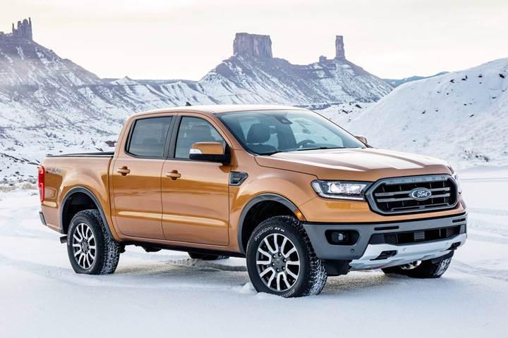 ABD'de en az yakıt tüketen pickup 2019 Ford Ranger oldu