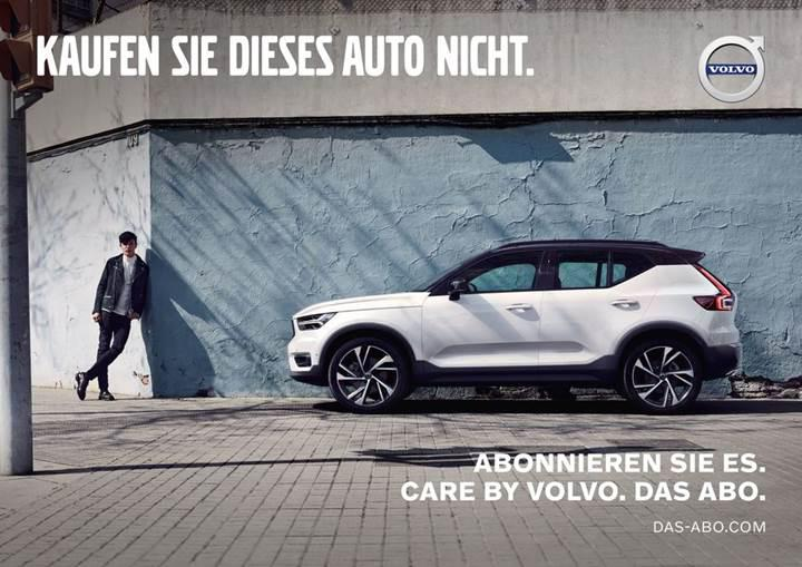 Volvo'dan ilginç reklam: