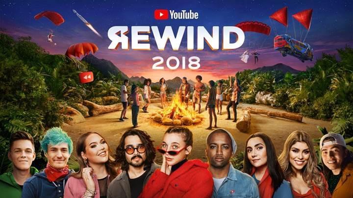 YouTube Rewind 2018, platformun en beğenilmeyen videosu oldu