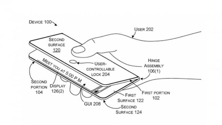 Katlanabilir akıllı telefon kervanına Microsoft da katılıyor