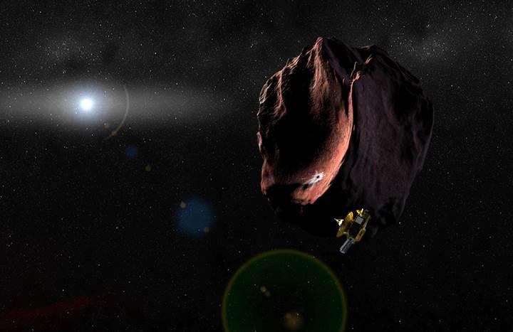 New Horizons, yeni hedefine ulaşmak üzere: İşte gönderdiği fotoğraf