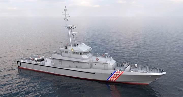 Hırvatistan'ın yerli ve milli gemisine Aselsan'ın silah sistemi