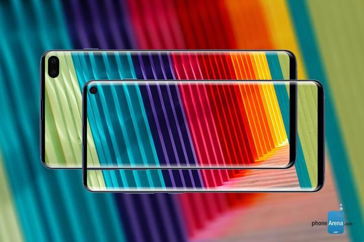 Samsung Galaxy S10 serisinin tasarımını açığa çıkaran görseller yayınlandı