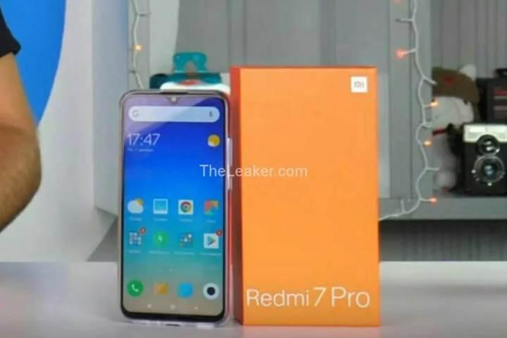 Xiaomi Redmi 7 Pro ortaya çıktı