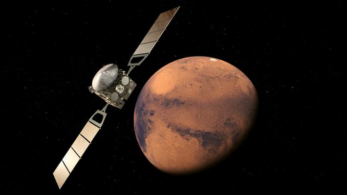 Mars'taki buz gölü' görüntülendi 94