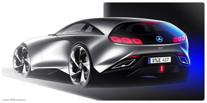 Türk tasarımcıdan Mercedes SL'ye bambaşka bir boyut kazandıran tasarım çalışması