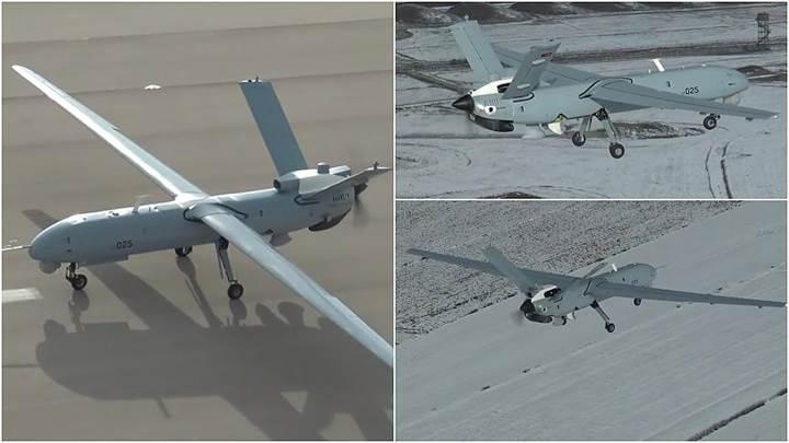 ANKA İHA yerli motor ile -10 derecede ilk uçuşunu yaptı