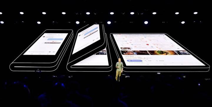 Samsung'un katlanabilir telefonu üç kamera ile gelecek