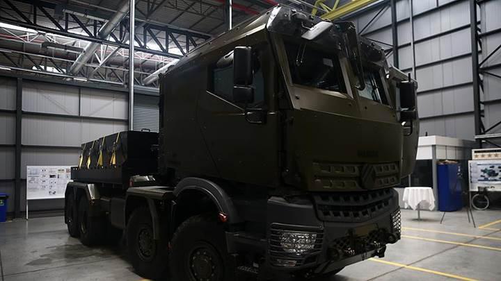 8x8 askeri araç Derman'ın prototipi üretildi
