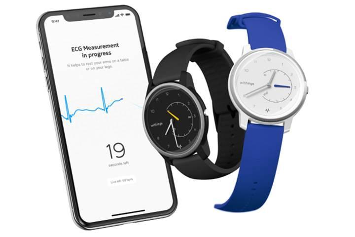 Withings Move ECG akıllı saati çok daha uygun fiyata EKG ölçümü sunuyor