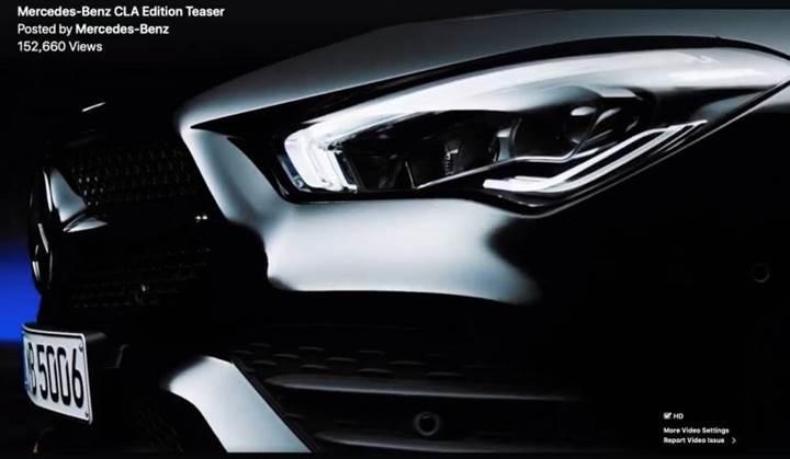 Yeni Mercedes CLA tanıtım öncesi teaser videosuyla karşınızda