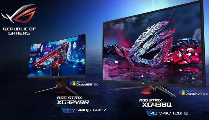 Asus, HDR destekli ROG Strix XG oyuncu monitörlerini duyurdu