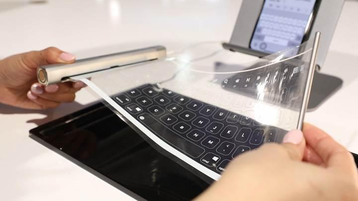 Royole, katlanabilir klavyesini CES 2019'da tanıttı