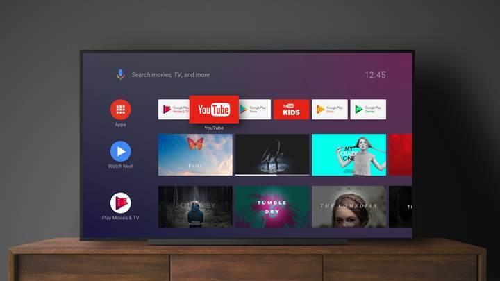 Google, Android TV'lere minimum sistem gereksinimi şartı getiriyor