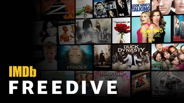 IMDb'den tamamen ücretsiz dizi ve film izleme platformu Freedive!