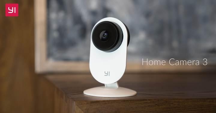Xiaomi Yi Home Camera 3 güvenlik kamerası duyuruldu