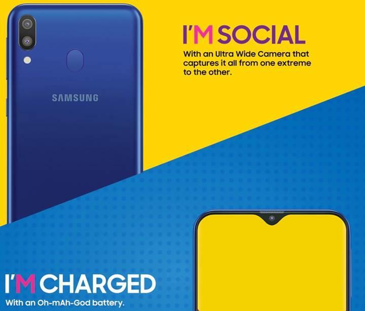 Samsung Galaxy M tanıtım sitesi yayınlandı