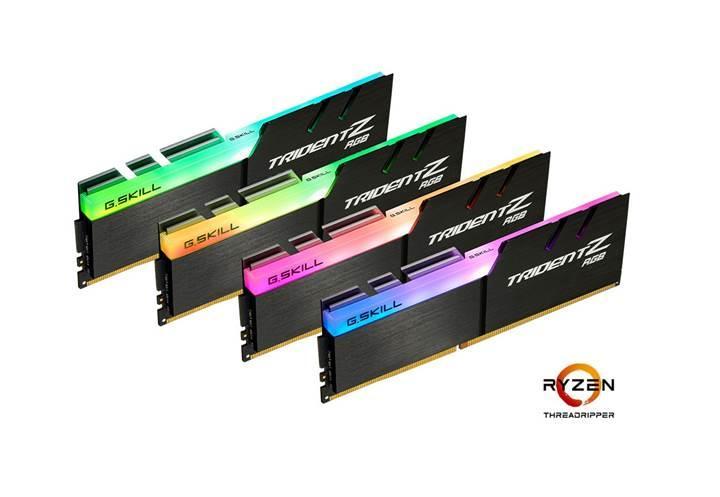 G.Skill'den AMD X399 için optimize edilmiş DDR4 bellekler