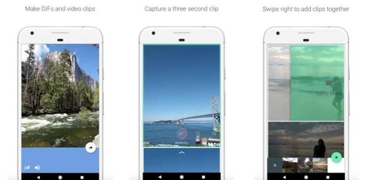 Google'ın GIF uygulaması Motion Stills, Android için yayında