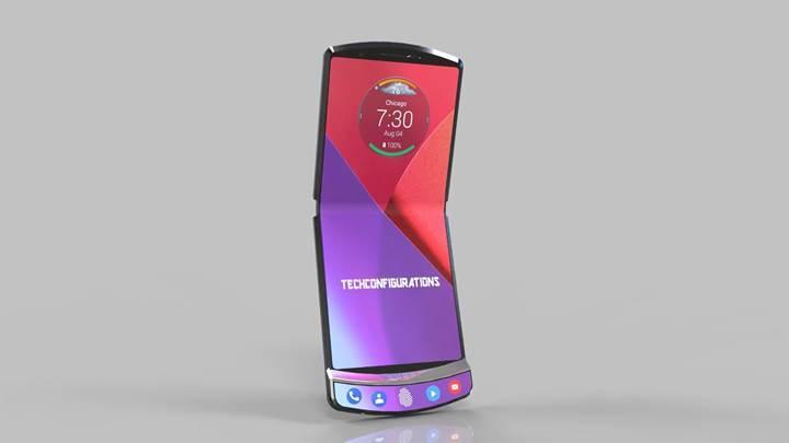 Motorola'nın katlanabilir telefonunun tasarımı ortaya çıktı