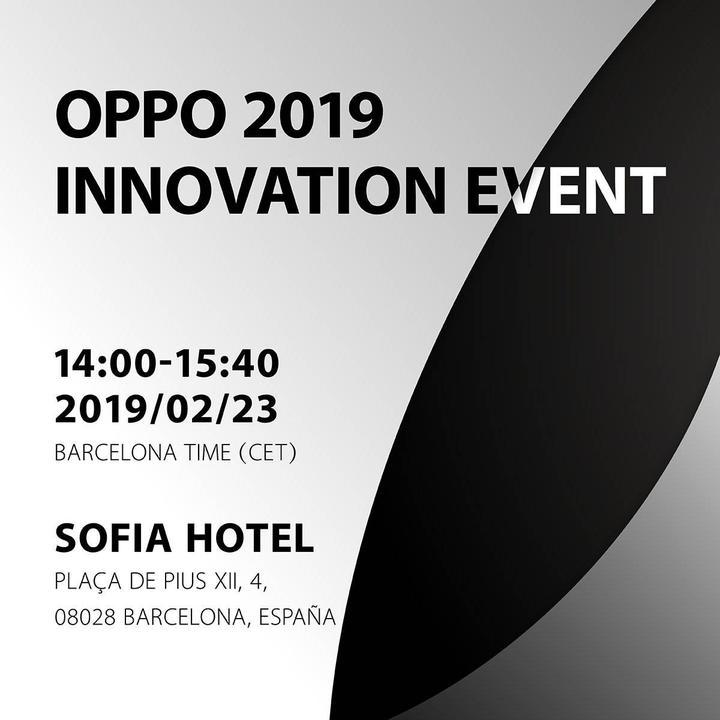 Oppo, MWC 2019 etkinliğinin tarihini açıkladı